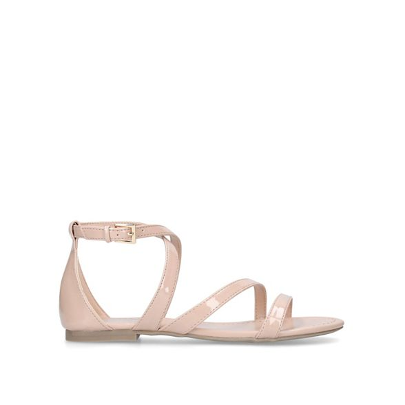 sandals Nude Carvela Nude sandals flat 'Bee' flat 'Bee' Nude Carvela Carvela qvfwnBT