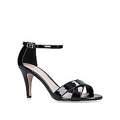 Carvela - Black 'Kaller' mid heel sandals