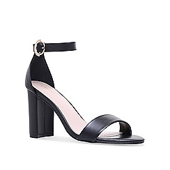 Carvela - Black 'Loyal' high heel sandals