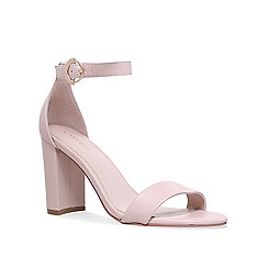 Carvela - Nude 'Loyal' high heel sandals