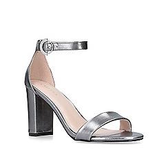 Carvela - Metallic 'loyal' mid heel sandals