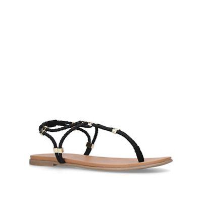 Carvela - Black 'Ace' flat sandals