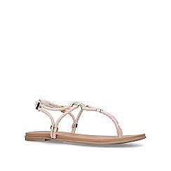 Carvela - Nude 'Ace' flat sandals