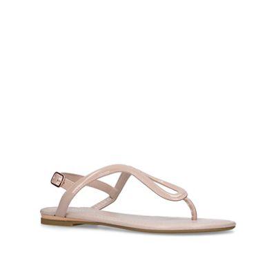 Carvela - Nude 'Acorn' flat sandals