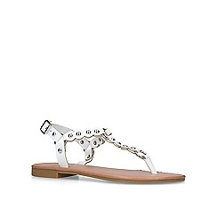 Carvela - White 'Alba' flat sandals