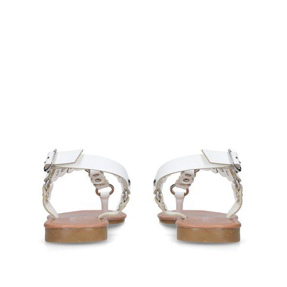 'Alba' sandals White Carvela Carvela White flat wqT0t4