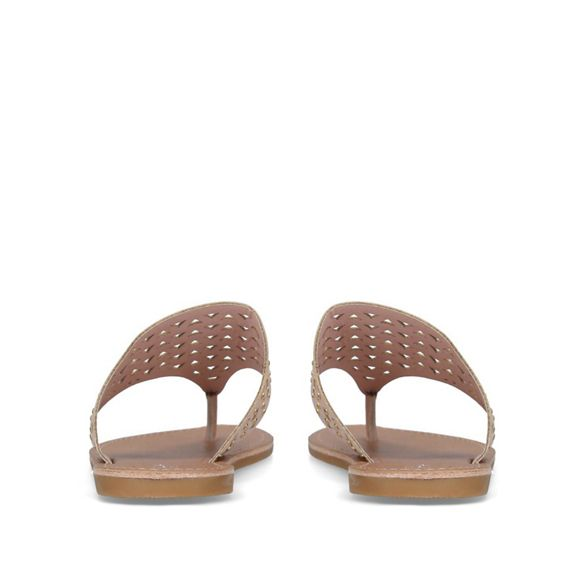 flat 'Arch' flat Carvela 'Arch' mules Nude mules Nude Carvela 5PABA71y