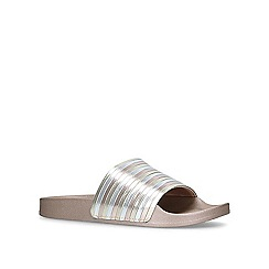 Carvela - Bronze 'Bulb' flat sandals