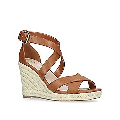 Carvela - Tan 'Smashing' high wedge sandals