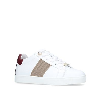 Carvela   White 'linette' Low Top Trainers by Carvela
