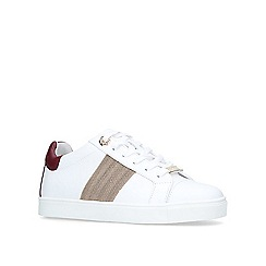 Carvela - White 'Linette' low top trainers