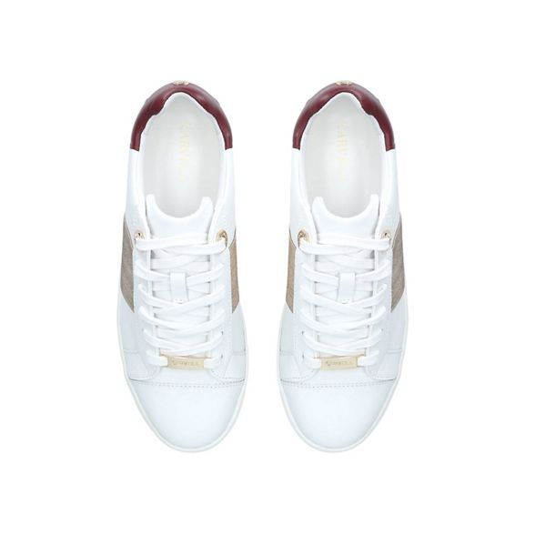 'Linette' low top Carvela trainers White nB8SfxqOf6