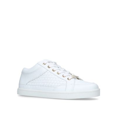 Carvela - White 'Legacy 2' low top trainers