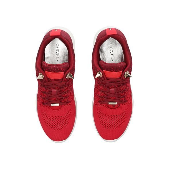 'Lolita' top Red low Carvela trainers q0SwPFX