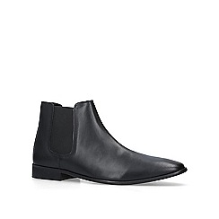 KG Kurt Geiger - Black 'Harrogate' leather ankle boots