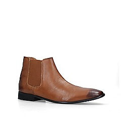 KG Kurt Geiger - Tan 'harrogate' chelsea boots
