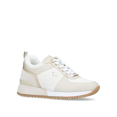 Carvela - Cream 'Lina' low top trainers