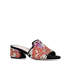 Carvela - Embroidered 'Gypsy' block heeled sandals