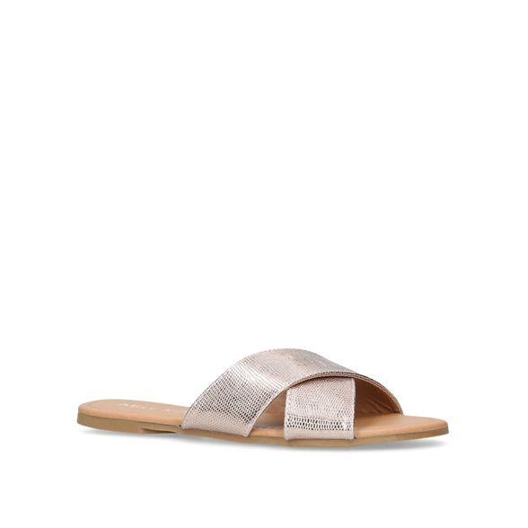 Metallic Miss 'Rex' KG flat sandals 6RxqH