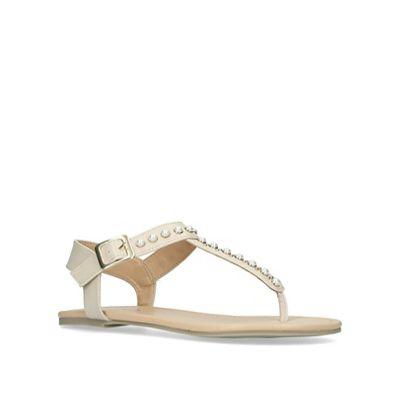fdd36bb0801 Miss KG KG KG - Nude  Rapper  flat sandals 754b44 - fcgmiddleeast.com