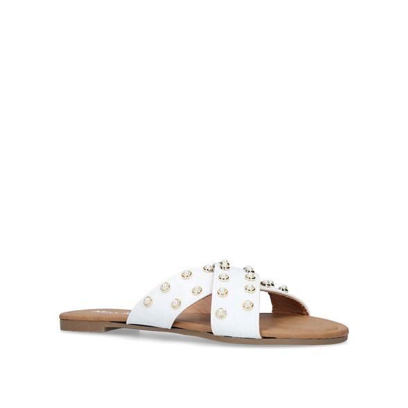 sandals flat White Miss KG 'Rocco' a41IUq