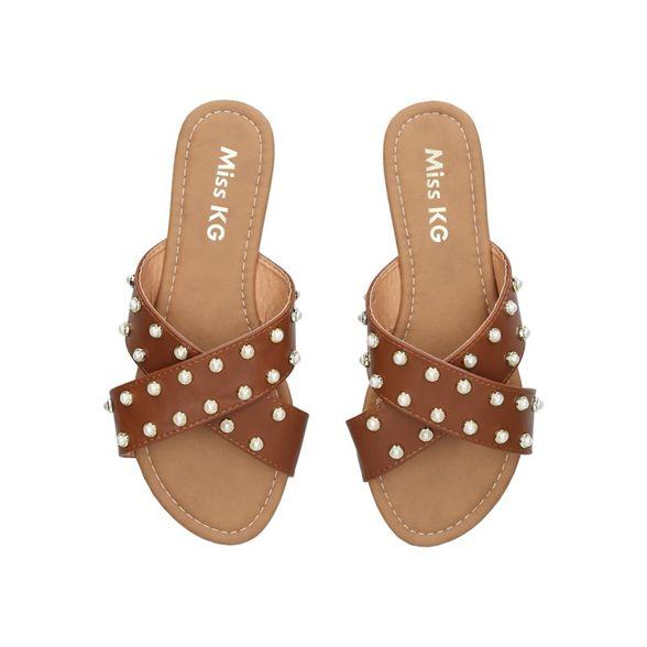 Miss 'Rocco' sandals Tan KG flat rUqf1rw