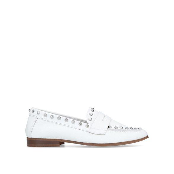 Carvela White loafers studded Carvela White 'Lowry' studded loafers 'Lowry' xfIw1Xqvv