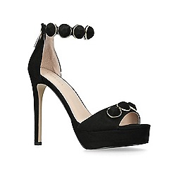Carvela - Black 'Gilly' high heel sandals