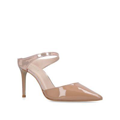 Carvela - Nude 'Agnes' high heel court shoes