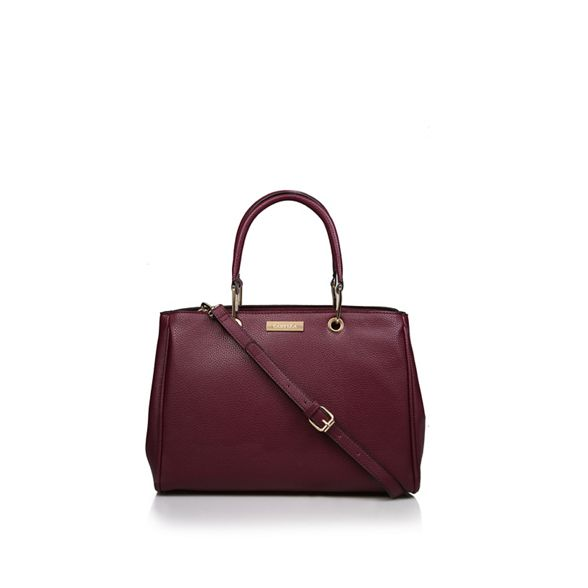 Soft Wine tote Carvela Tote' bag Strct 'Belle E4HHqF