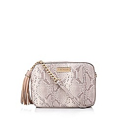Carvela - Snake 'Bessie Crc Xbody Tssl Trm' print cross body bag