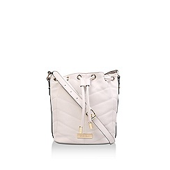 Carvela - Nude 'Bianca Small Quilted Bucket Bag' quilted bucket bag