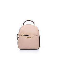 Carvela - Nude  Blake Zip Front Backpack  backpack bag 49a5327043