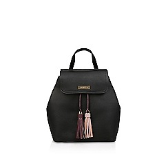 Carvela - Black 'Bliss Tassel Backpack' tassel backpack