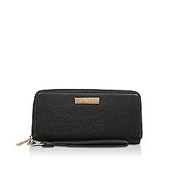 Carvela - Black 'Alexa Large Wallet' zip wallet