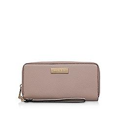 Carvela - Nude 'alexa large wallet' zip wallet
