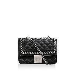 Carvela - Black  Bailey Quilted Chain Shoulder Bag  10190501c6