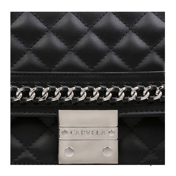 Shoulder 'Bailey Carvela Black Bag' Chain Quilted H1qnIZqwA