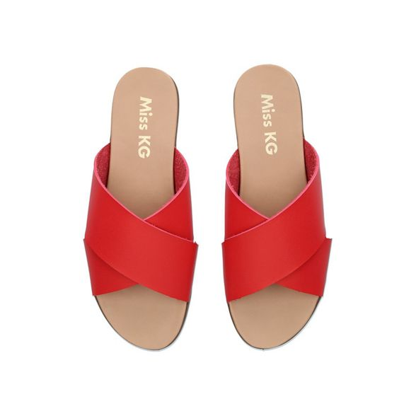 sandals Miss toe 'Rubin' KG Red open XqvqfxwUp