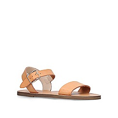 Miss KG - Tan 'Ruthie' strappy sandals