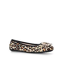 Carvela - Leopard 'Mission' print ballerina shoes