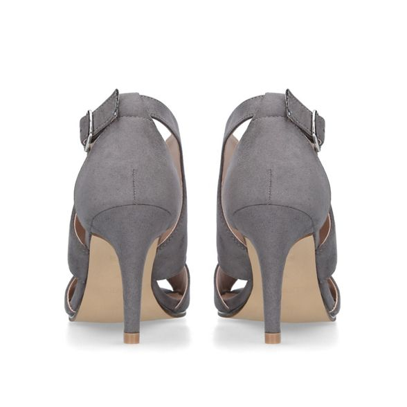toe open 'Limbo' Grey sandals Carvela CYq8w8