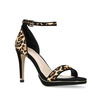 Carvela - - - Leopard 'Leo' print high heel strappy sandals fa70cf