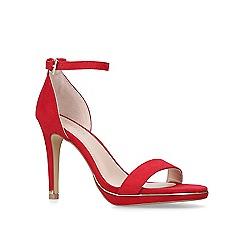 43c6fbb707e Carvela - Red  Leo  stiletto heeled strappy sandals