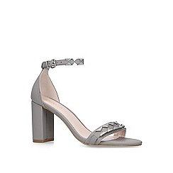 Carvela - Grey 'Lazer' block heeled sandals