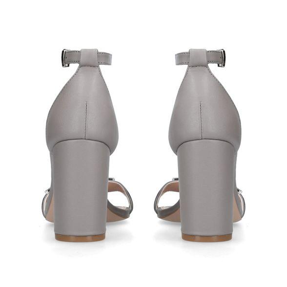 block Grey Carvela sandals 'Lazer' heeled PqqRrEnd