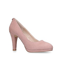 Carvela - Pink 'Kapable' high heeled court shoes