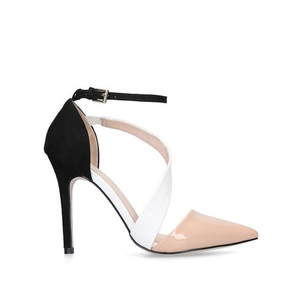 high 'Arielle' heel shoes court Nude Miss KG Uq4Att