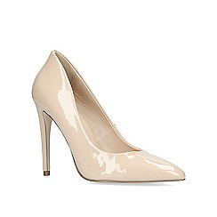 Miss KG - Nude 'cayleb' high heel court shoes