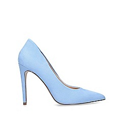 Miss KG - Blue 'Cayleb' High Heel Court Shoes